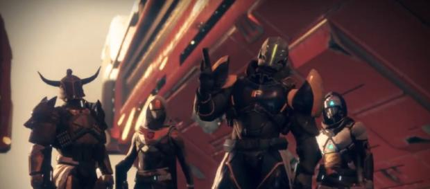 Destiny 2: January Faction Rally. [image source: Keith Knight/YouTube screenshot]