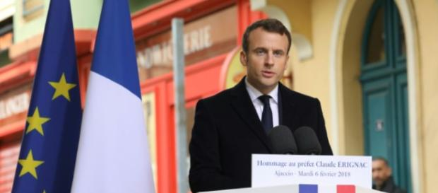 En Corse, Macron veut donner un «avenir» à la Corse au sein de la ... - liberation.fr