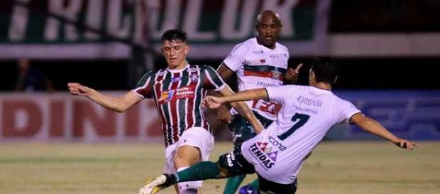 Fluminense volta a jogar mal e segue sem vencer na temporada (Foto: Lucas Merçon/Divulgação FFC)