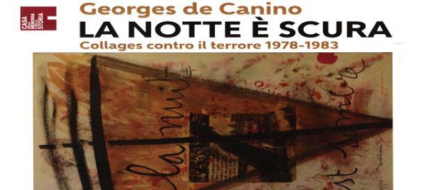 Il manifesto della Mostra di Georges de Canino in corso alla Casa della Memoria di Roma
