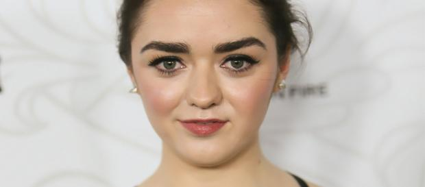 Maisie Williams da série ''Game of Thrones''