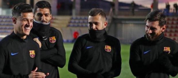 Philippe Cputinho está sendo bem recebido no Barcelona.