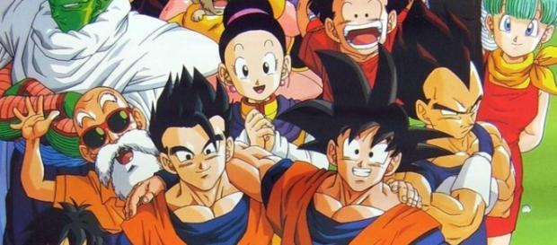 Thematic park where dragon ball surprises his family