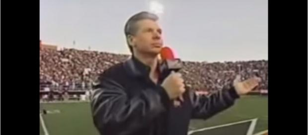 Vince McMahon back in 2001 opening the first XFL - image - Tony Xypteras / Youtube