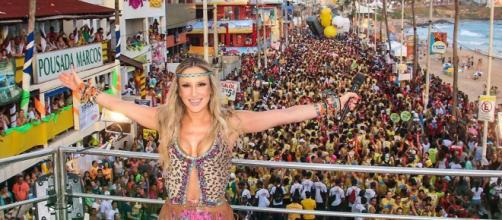 Claudia Leitte: sucesso no Carnaval