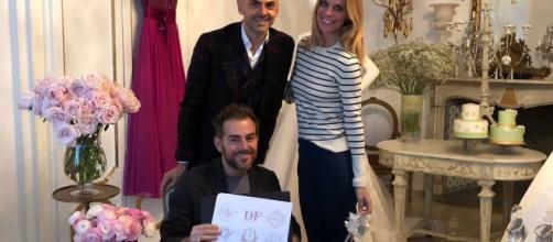 Il mantello di Daniele Bossari al GF Vip - fanpage.it
