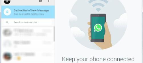 La aplicación de Whatsapp para ordenadores llamada 'Whatsapp web'