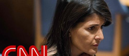 Nikki Haley has denied any affir with Trump. (Image credit Youtube-CNN channel)