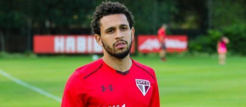 Wellington Nem, do São Paulo, só voltará a jogar em 2018