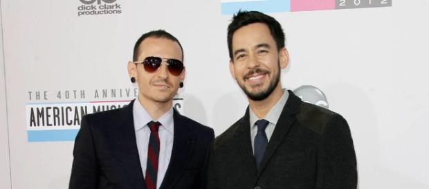 Chester Bennington und Mike Shinoda (Quelle: hearzonede.com)