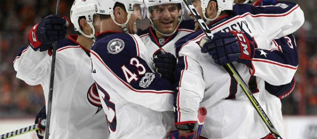 The Blue Jackets secured a much needed win before the All-Star break.[Image via Columbus Blue Jackets/Wikipedia]