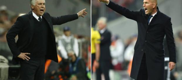 Zidane podría ser suplantado por Ancelotti.
