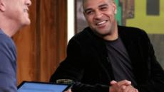 Em bate-papo com Bial, Adriano revelou que tentaria voltar a jogar