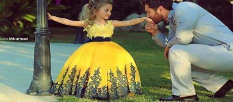 Vínculo entre padre e hija...Qué belleza