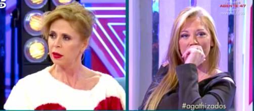 Agatha Ruiz de la Prada y Belén Esteban