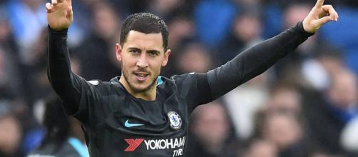 Eden Hazard puede seguir en el Chelsea depende de lo que haga Courtois