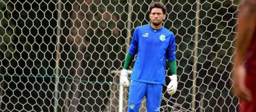 Goleiro tinha ficado no banco de reservas na partida contra o Água Santa. (Foto Reprodução).