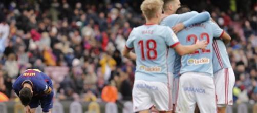 Liga: Barcelona Slip In Celta Vigo Thriller - ndtv.com