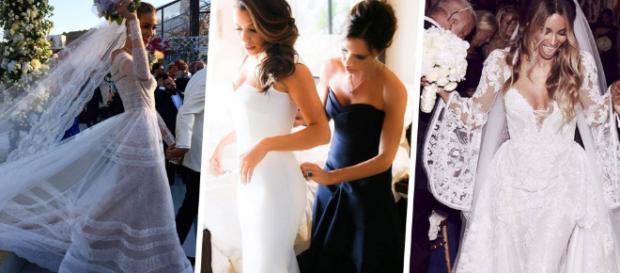 Les plus belles robes de mariée de stars de l'année