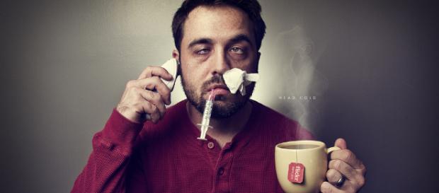 Sick during flu season -- Matthew Coughlin/Flickr