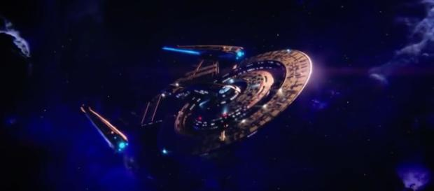 The USS Discovery is now trapped in the mirror universe. - [Image Credit: Jawiin / YouTube screencap]