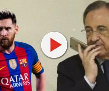 Florentino Pérez y Leo Messi se disputan un fichaje