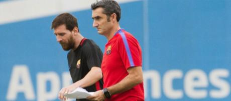 Messi no confía en Ernesto Valverde para dirigir el equipo