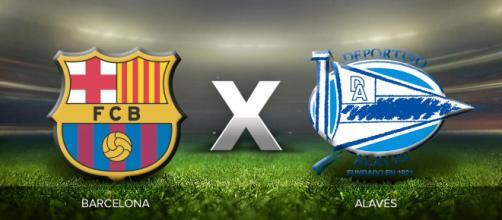 Barcelona x Alavés: ao vivo neste domingo (28)