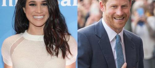 El Príncipe Harry y Meghan Markle. - eonline.com