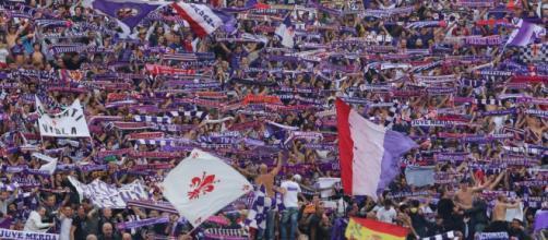 I tifosi della Fiorentina contestano la Società