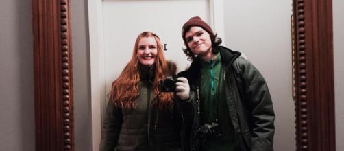 Jacob Roloff announces engagement to Isabel Rock Garreton. [Image via Jacob Roloff/Instagram]