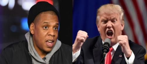 Jay-Z, Donald Trump, via Twitter