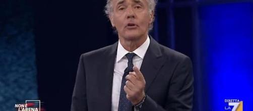 Malore per Massimo Giletti in diretta
