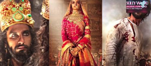 """padmavat"" has made good beginning at Box office-Image credit (screenshotyoutube| Aajkal.com)"