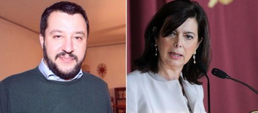 Salvini, nuove offese sessiste alla Boldrini. E' polemica - improntalaquila.com