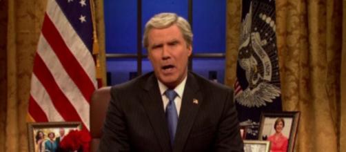 Will Farrell a George W. Bush, via Twitter