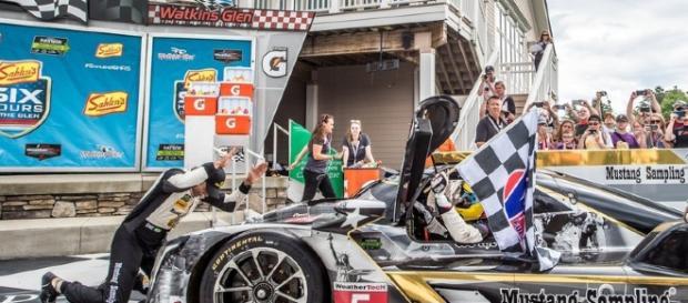 Albuquerque, Fittipaldi y Barbosa, triunfadores en las 24 horas de Daytona Foto: Action Express