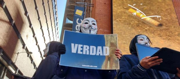 AV: Madrid muestra en las calles la realidad que sufren los animales. Foto: Milena Hidalgo