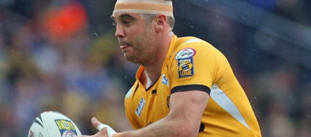 Brent Sherwin had been an impressive half-back at Canterbury before his ill-fated switch to Castleford. Image Source - zerotackle.com