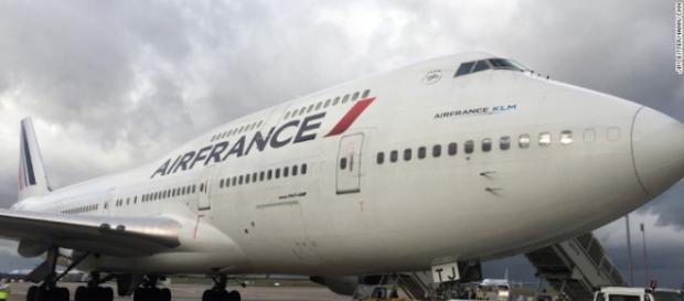 El último vuelo de un avión que va al cementerio.- cnn.com