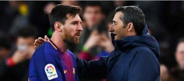 Leo Messi teme a inexperiência de Valverde. (Foto Reprodução).