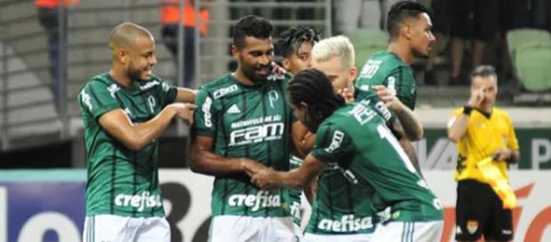 Palmeiras venceu o Red Bull na última rodada