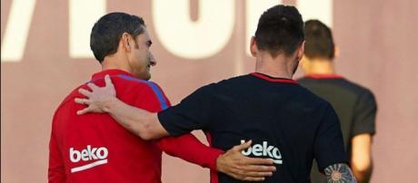 Messi y Valverde acuerdan un fichaje de última hora para el Barça. - diariogol.com
