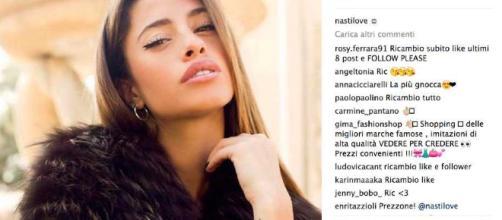 Chiara Nasti: Instagram VS Isola dei Famosi - le foto a confronto ... - bitchyf.it
