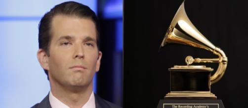 Donald Trump Jr. angry at Grammys, via Twitter