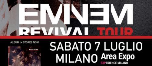 Eminem, per la prima volta in concerto in Italia: il 7 luglio 2018 a Milano
