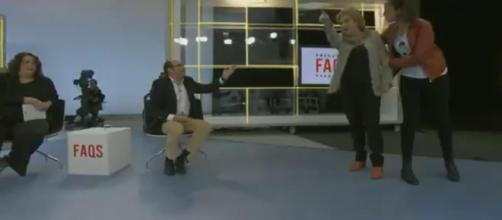 Enfrentamiento de Pilar Rahola en TV3