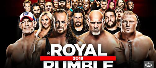Inicia la temporada de lucha con la Royal Rumble
