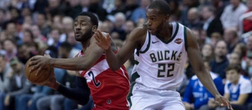 Khris Middleton was named Eastern Conference Player of the Week for January 22-28. - [Image Source: Flickr | Keith Allison]