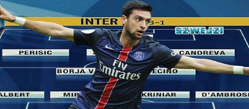 La nuova Inter con Javier Pastore